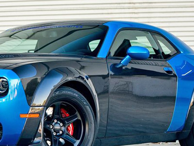 Used Challenger Hellcat >> 2018-2019 Challenger Wide Body Hellcat Demon Style Kit
