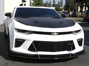 APR CW-603624 Camaro SS 1LE Carbon Fiber Splitter with Rods 2016-2018