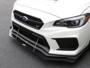 APR CW-801808 Impreza WRX STI Front Carbon Fiber Wind Splitter 2018-2019 | with Factory Lip