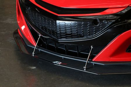APR CW-916026 | 2016-2020 Acura NSX Carbon Fiber Splitter w/ Rods