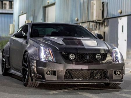 Chrome & Carbon 2008-2015 Cadillac CTS-V Carbon Fiber Wide ...