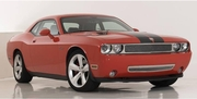 2009-2014 Challenger Upper Class Grille, Polished