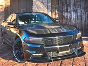 Dodge Charger 2015-2020 Type-HC Style Carbon Fiber With Heat Extractor Vents Hood