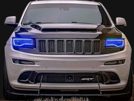 2011-2020 Jeep Grand Cherokee Demon Styled Night Hawk Ram Air Hood