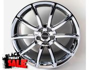 Mustang GT500 Style Chrome 20inch Wheels, Staggered Set 2005-2019