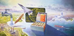 1984 AIRFLOAT SYSTEMS by RAYMOND PAUL MOATS