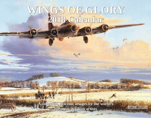 """WINGS OF GLORY -<br> <b style= """"color: red;font-weight:bold,"""">  NEW 2018  CALENDAR </b><br>"""