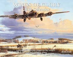 "WINGS OF GLORY -<br> <b style= ""color: red;font-weight:bold,"">  NEW 2018  CALENDAR </b><br>"