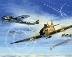 303 SQUADRON POSTER<br> New Release <br> By MARK POSTLETHWAITE