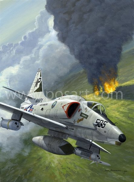 A-4 Skyhawk<br>By Mark Postlethwaite<br>
