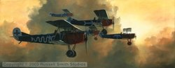 A Flight of Bluebirds<br>By Russell Smith