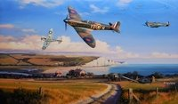 A Summer For Heroes by Nicolas Trudgian<br> OFFICIAL BATTLE OF BRITAIN PRINT<br>