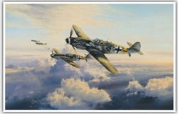 <big><center>�Ace of Aces� by Robert Taylor <br/>Gicle� Canvas Proof</center></big>