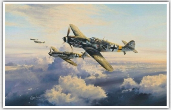 "<big><center>""Ace of Aces"" by Robert Taylor <br/>Gicleé Canvas Proof</center></big>"