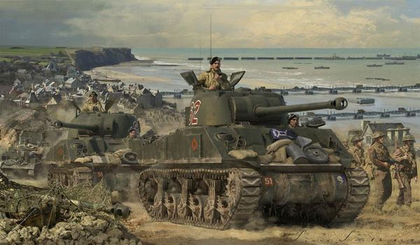 """ADVANCE FROM<br> ARROMANCHES  --<b style= """"color: red;font-weight:bold,"""">NEW RELEASE</b>  by  SIMON SMITH"""