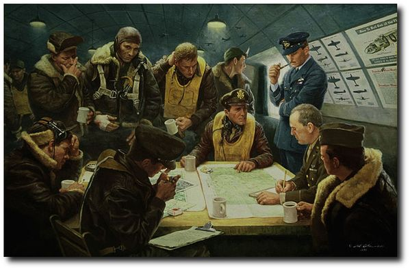"""<b style= """"color: black;font-weight:bold,""""> After The Mission<br> HAND ENHANCED GICLEE <br>by Gil Cohen"""