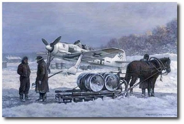 Against General Winter<br> NEW GICLEE by Ronald Wong<br>