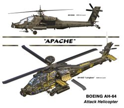 AH-64 Apache Helicopter<br>