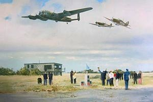 Airfield Salute <br> By Robin Smith