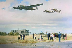 """<b>""""AIRFIELD SALUTE"""" by ROBIN SMITH<br>"""