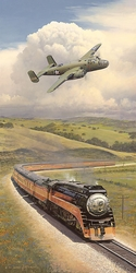 ALAMEDA BOUND by BILL PHILLIPS<br> - $195 - 2 Left<br>