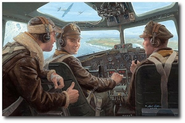 Almost Home <br> Tribute to the 8th Air Force<br> By Gil Cohen