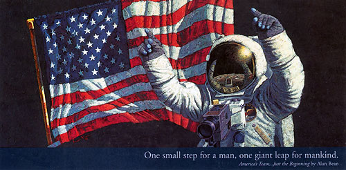Ameria's Team - Just The Beginning<br>By Alan Bean