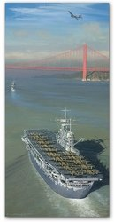 """Approaching The Gate to Destiny<br> by Bill Phillips<br>  <b style= """"color: blue; font-weight:bold,"""">    Doolittle Raid<br></b>"""