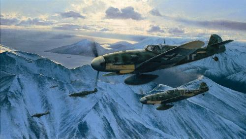 Arctic Hunters by Richard Taylor