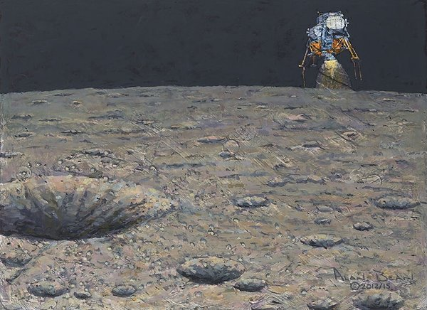 Armstrong Heads Beyond the Boulders <br> NEW RELEASE by ALAN BEAN