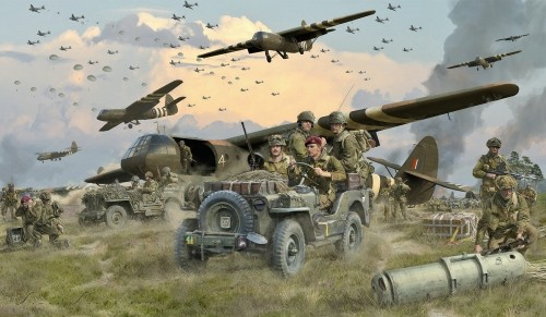 "ARNHEM AIRBORNE ASSAULT -  <b style= ""color: red;font-weight:bold,"">NEW RELEASE</b><BR>  by SIMON SMITH"