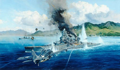 Attack On The Hei by Robert Taylor <br> Secondary Market<br> $595