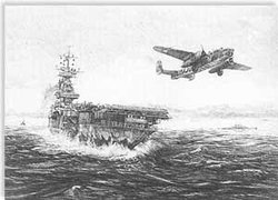 Avenging Strike <br> By Robert Bailey<br>w/8 Doolittle Raider Signatures<br>  $245<br>  Very Low Inventory<br>