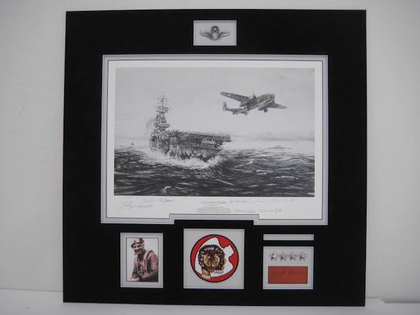 Avenging Strike by Robert Bailey - Matted With Doolittle signature:  $895