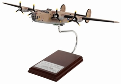 B-24D PLOESTI RAID <br> Aircraft Model <br> Signed By Walter Stewart<br>