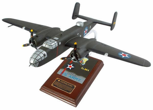 B-25B MITCHELL - SIGNED BY DICK COLE