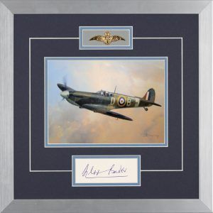 BADER'S SPITFIRE - Companion Giclee to ORIGINAL OIL PAINTING