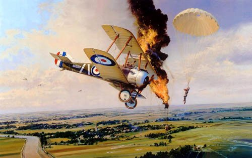 Balloon Buster by Robert Taylor<br> NEW Remarqued Secondary Market