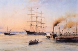 Barque Glenogil by Robert Taylor