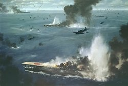 Battle of Midway by R.G. Smith