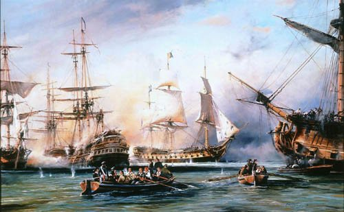 Battle of the Nile by Robert Taylor