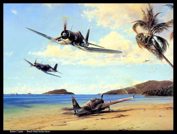 """Beach Head Strike Force"" by Robert Taylor"