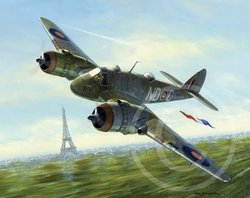 Beaufighter Over Paris <br>  New Release by Mark Postlethwaite<br>