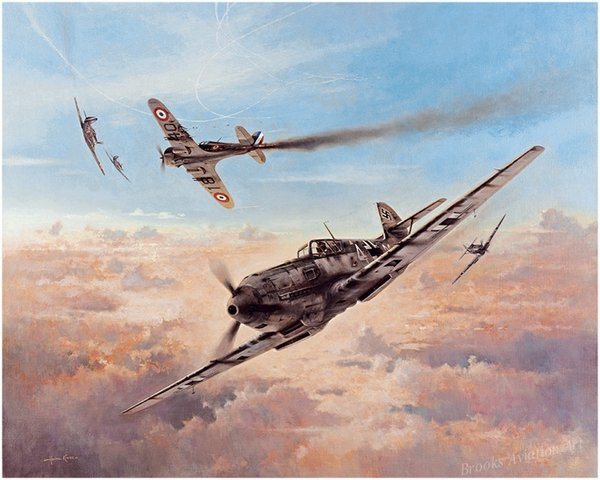 Birth of A Fighter Legend<br> By Heinz Krebs