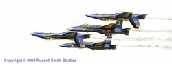 Blue Angels 1 <br> By Russell Smith
