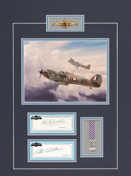 BOB STANFORD TUCK - PETE BROTHERS<br> RAF Fighter Pilot