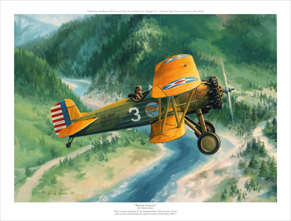 BOEING COUNTRY by RANDY GREEN