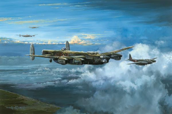 BOMBER COMMAND - TARGET BERLIN by MICHAEL RONDOT