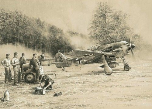 Breaking Cover by Robert Taylor<br> w/3 Luftwaffe Signatures<br>