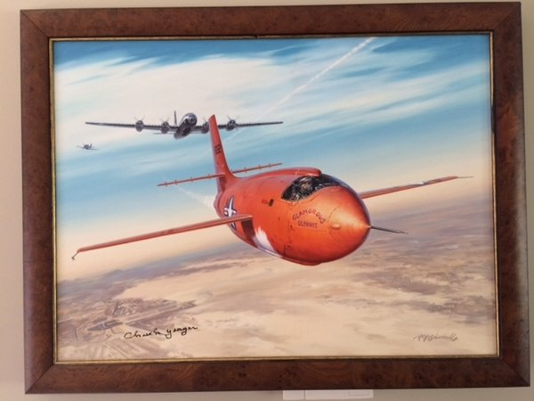Breaking The Sound Barrier by Roy Grinnell<br>  Oil on Canvas  $9,750